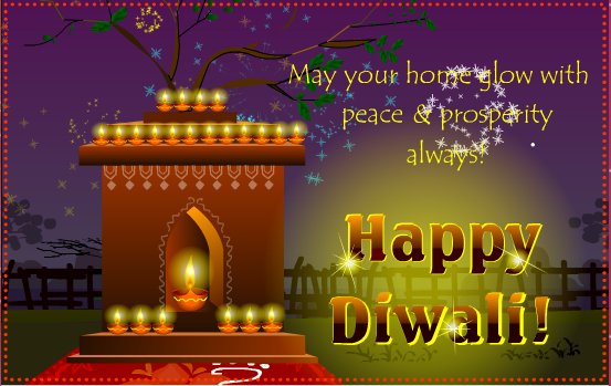 Happy Diwali Deepavali 2016 Wishes Greeting Cards & Ecards for Family