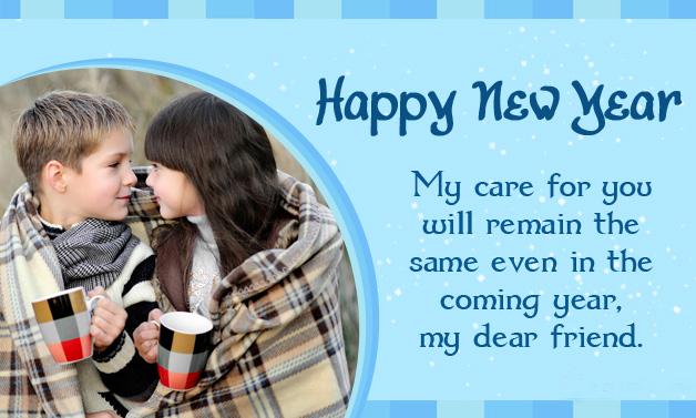 Happy New Year 2017 Wishes Greeting Cards For Wife & Girlfriends