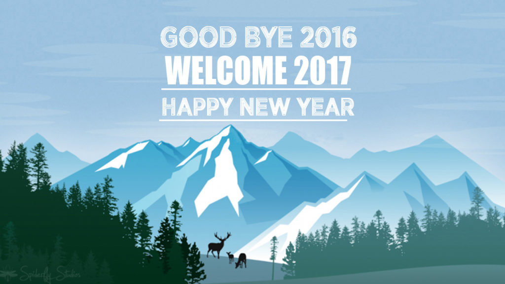 Good Bye 2016 Welcome 2017 Image