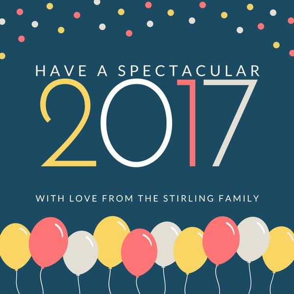 Happy New Year 2017 Cards Free Download