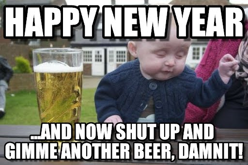 1st December MEME With Beer For Instagram