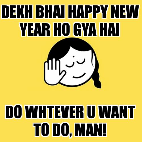 Dekh Bhai 1st January 2021 Troll