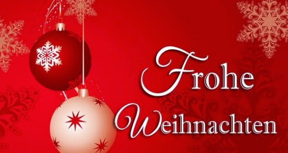 Merry Christmas Quote in German