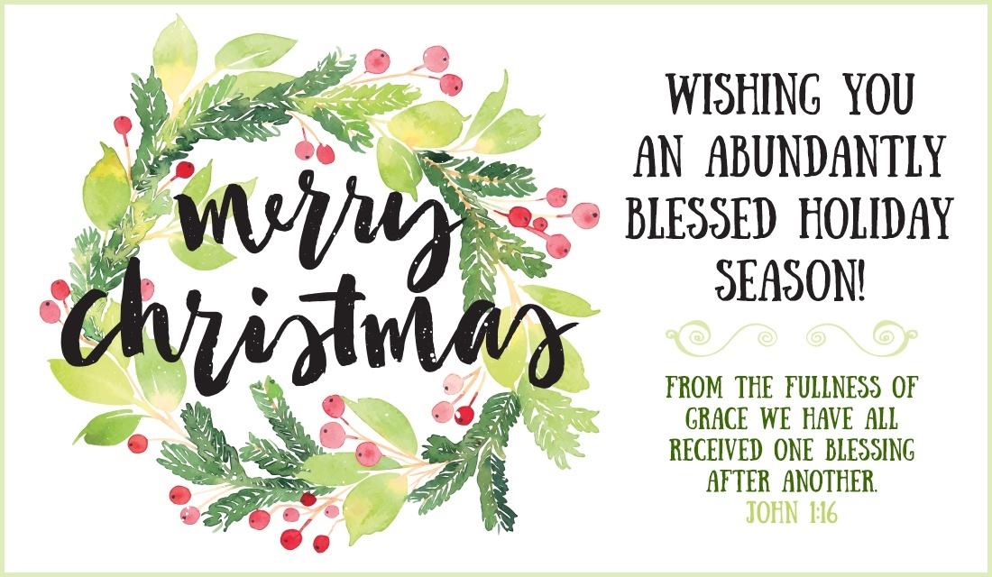 Merry Christmas Wishes Card