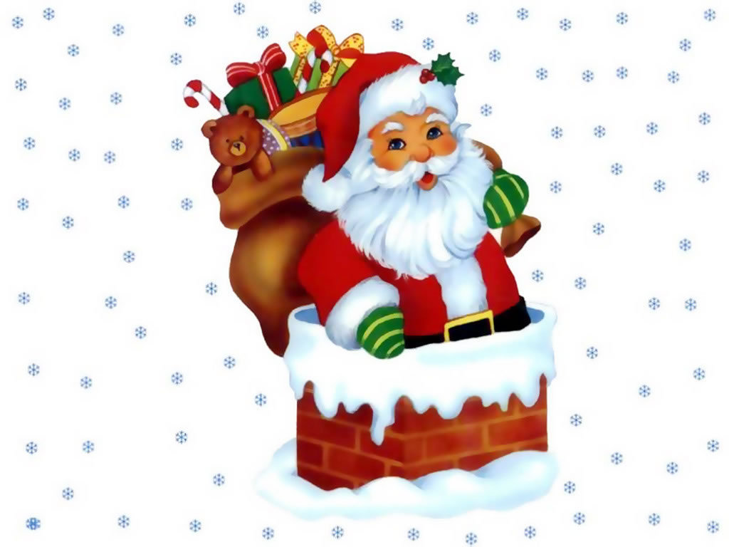 Merry Xmas 2016 Santa Claus Wallpaper