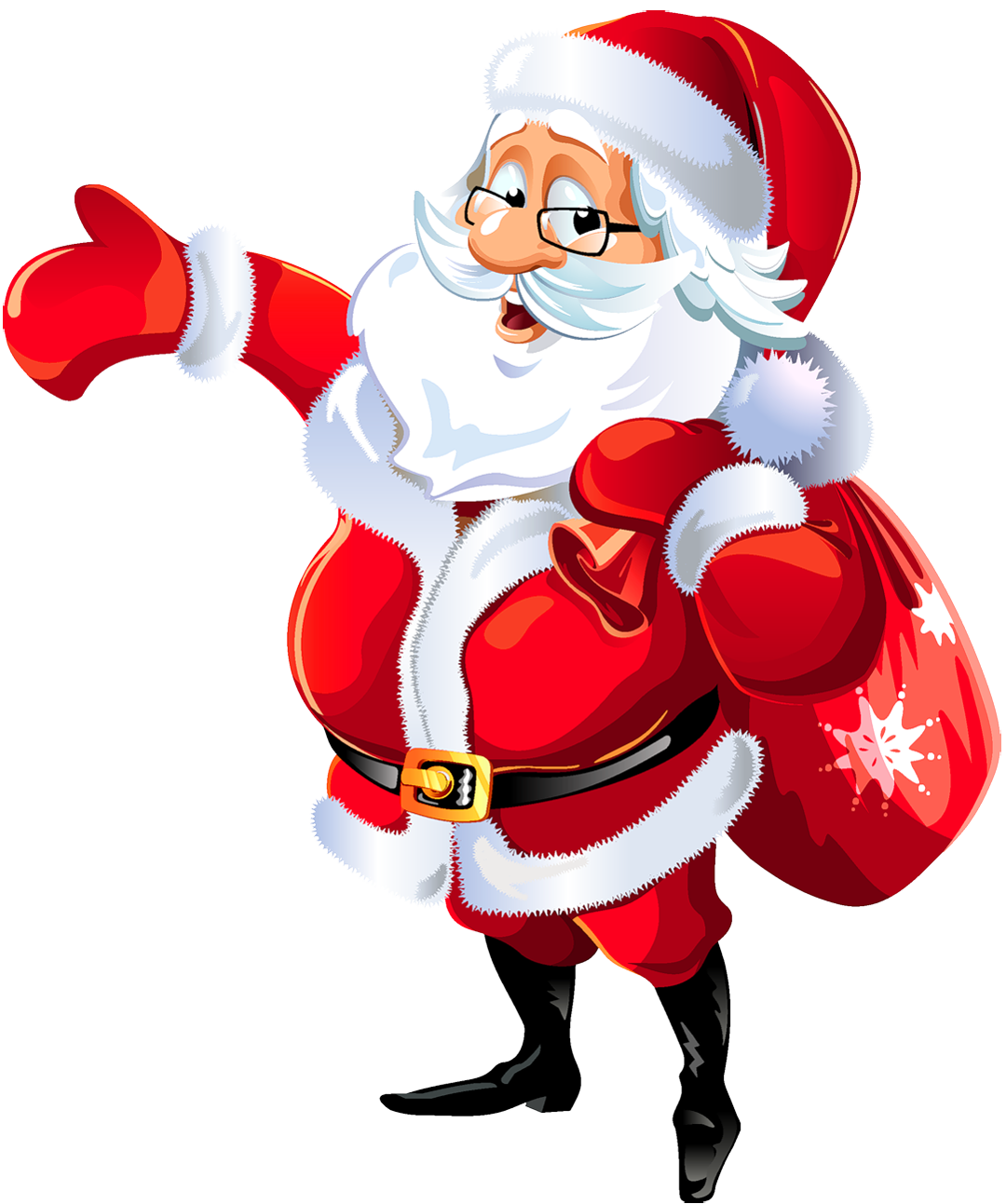 Santa Claus Background Picture For Desktop PC