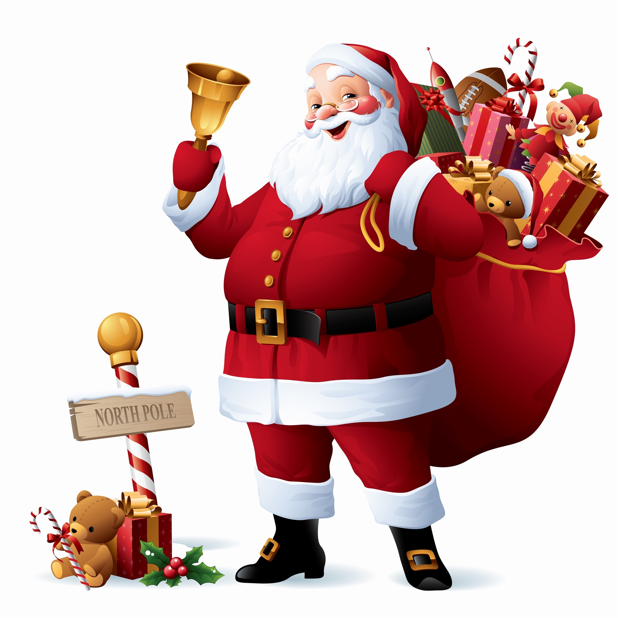 Santa Claus Picture For Merry Christmas 2016