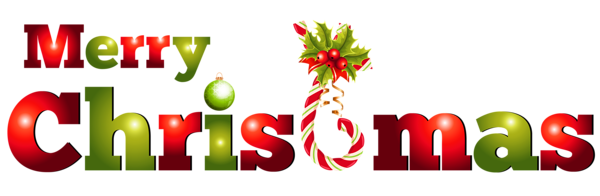 Transparent Merry Christmas 2016 Clipart