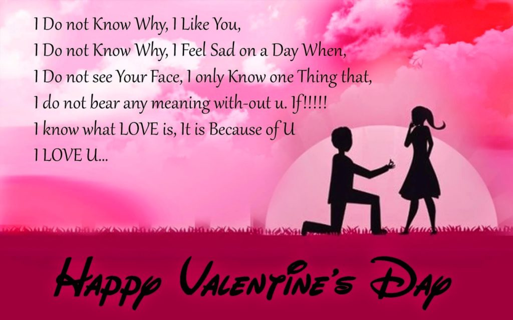 Happy Valentine Day 2017 Photo For Girlfriend